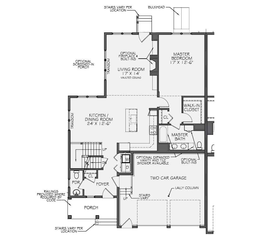 Adams First Floor